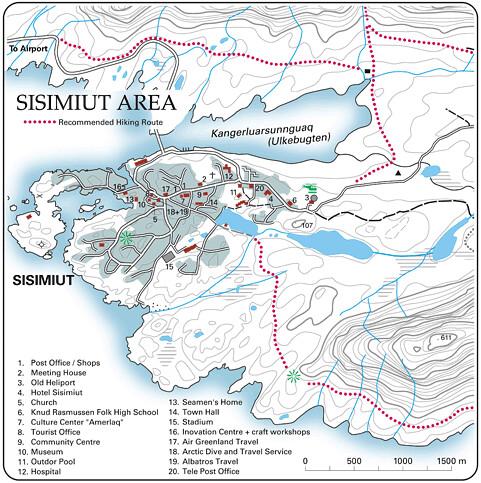 西西米特地圖