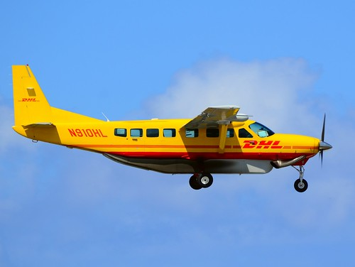 N910HL DHL (Air St. Kitts & Nevis) Cessna 208B Grand Caravan  (cn 208B1080) by TDelCoro