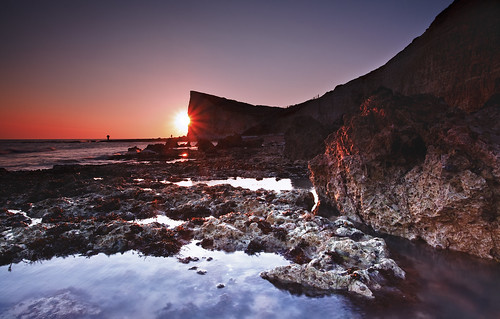 park sunset england pool rock hope sussex rocks head south nation gap down east seaford