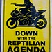 Down With The Reptilian Agenda