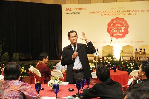 Indonesia Middle-Class Brand Forum 2013-Hasanuddin