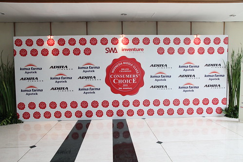 Indonesia Middle-Class Brand Forum 2013-Banner Wall
