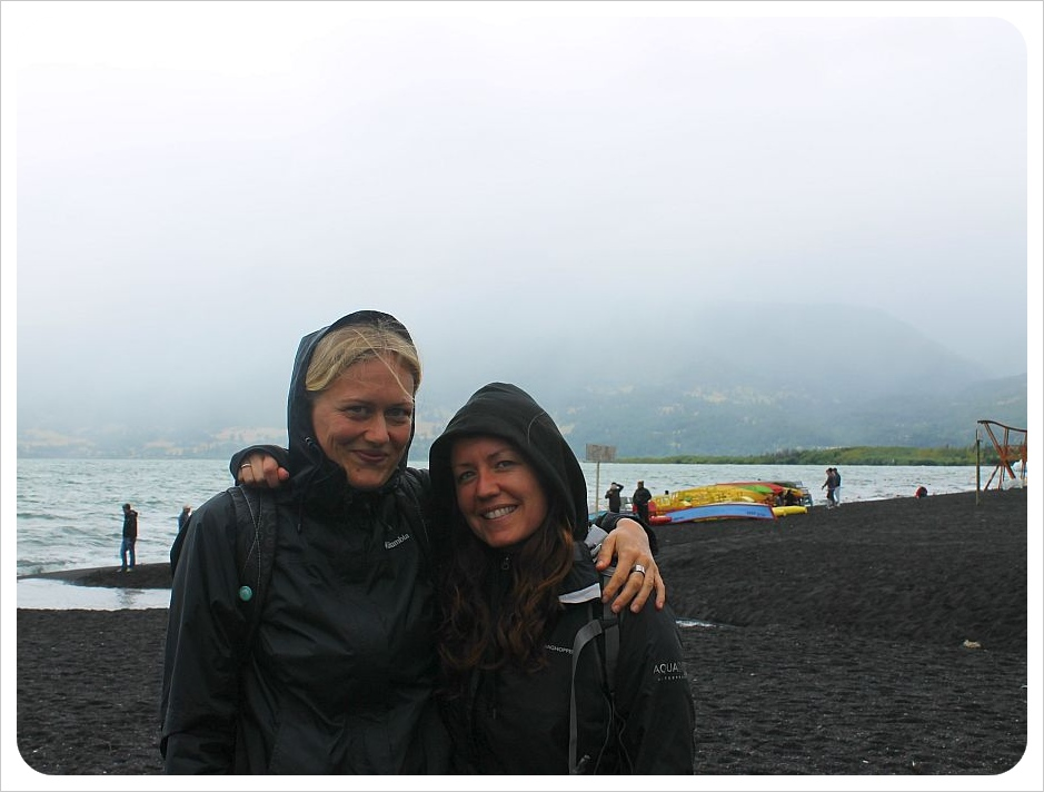 dani and jess in pucon