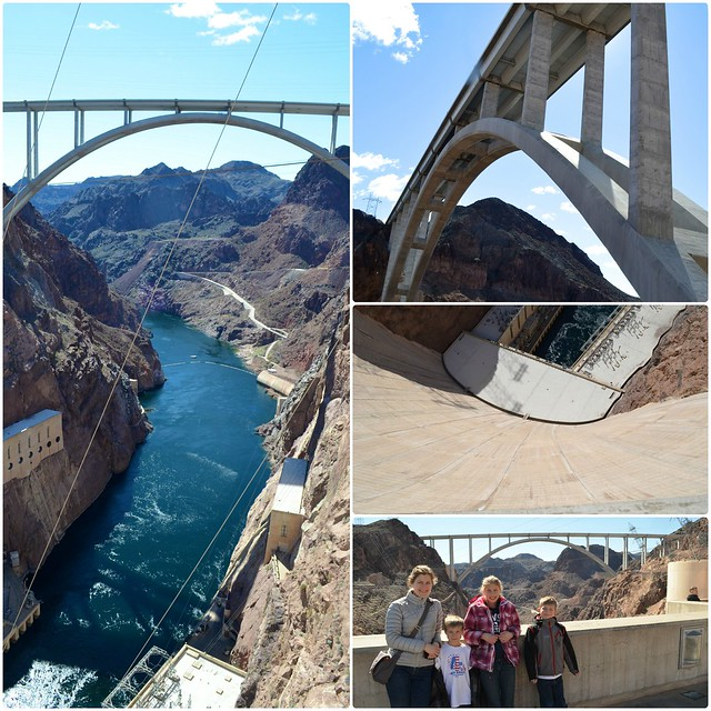 Hoover Dam Collage