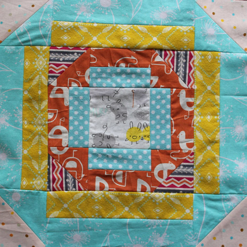 Aurifil Block of the Month - March