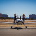 Lisa Bettany & Jessica Ambats with the Cirrus in Sedona
