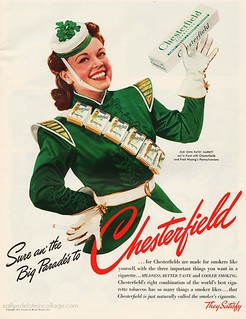 St Patricks Day Chesterfield Cigarettes
