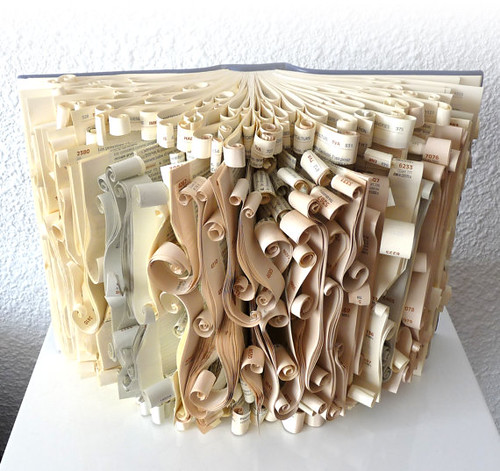 Scrolled-Book-Sculpture