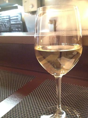 ライトな白ワインからスタート@サンフォコン