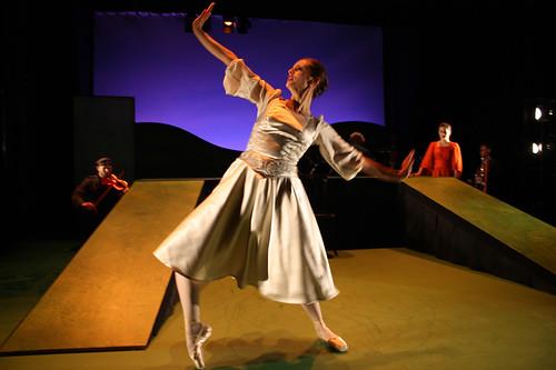 Maria Wulcan dansar Prinsessan