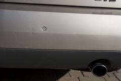 _MG_9760 - 2005 Cadillac STS rear bumper scratch