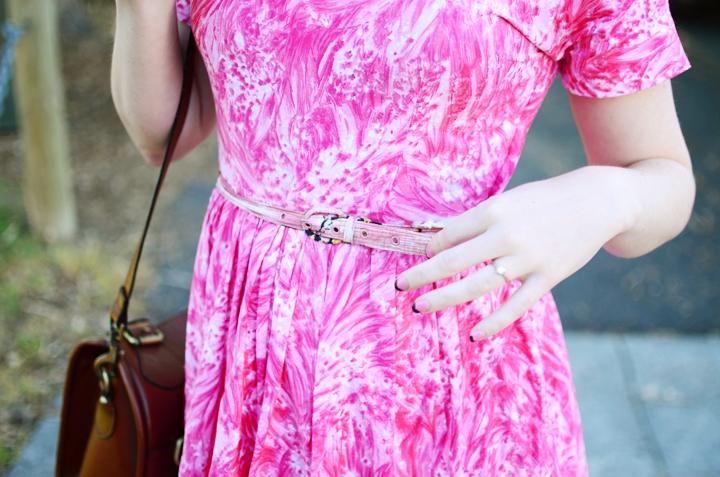 pink vintage brunswick c