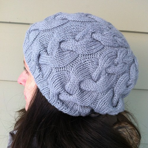 side view #knitting #cables #debbiebliss