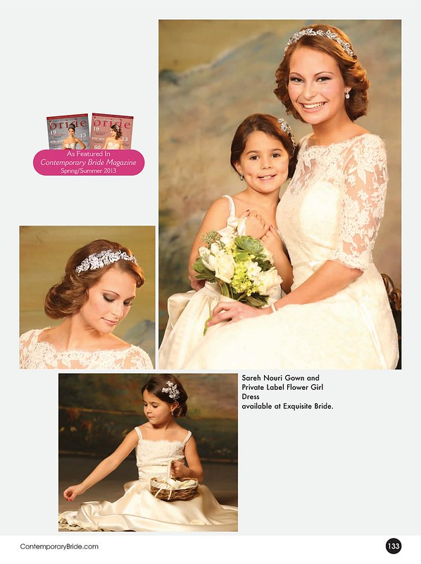 Contemporary Bride 2013 Covers  and Editorial