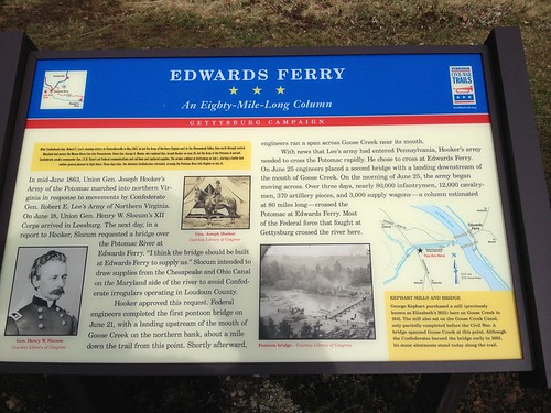 Edwards Ferry Marker 079
