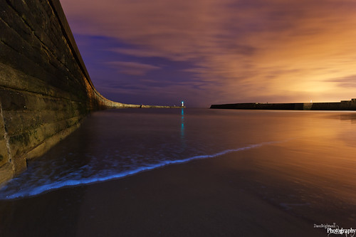 Seaham Night by Dave Brightwell