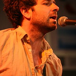 Fri, 15/03/2013 - 5:25pm - Dawes plays the WFUV Public Radio Rocks Day Stage at SXSW. 3-15-2013. Photo by Laura Fedele