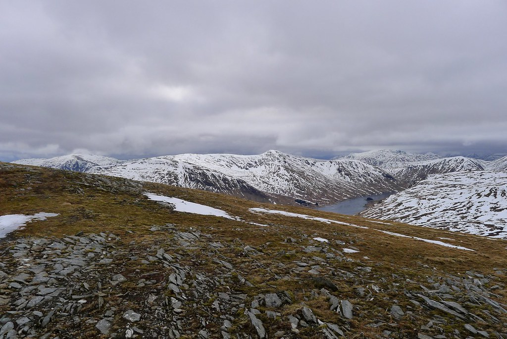 Loch an Daimh from Meall Buidhe