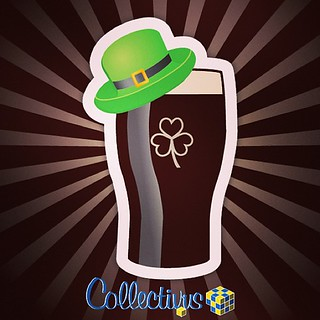 A perfect day for a Pint of Irish #Thingie. Well, everyday is really.