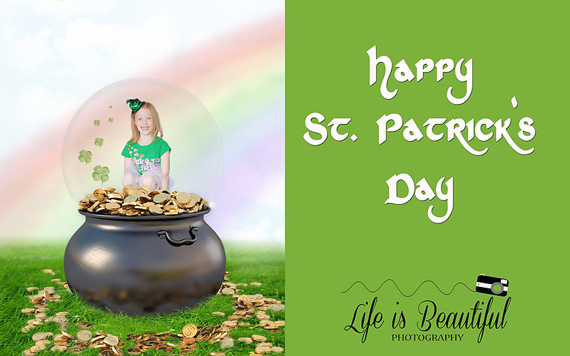 St Patrick's Day Globe copy