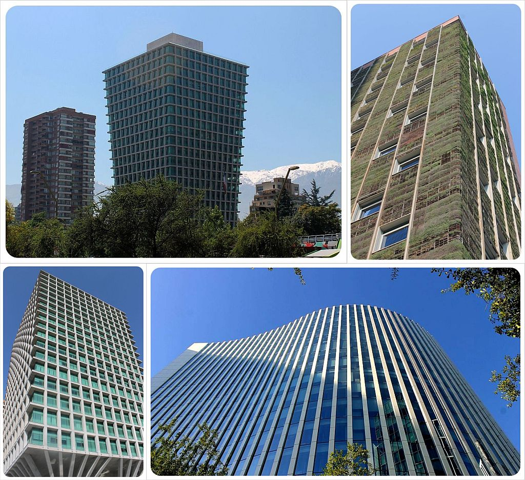 Contemporary architecture in Santiago de chile