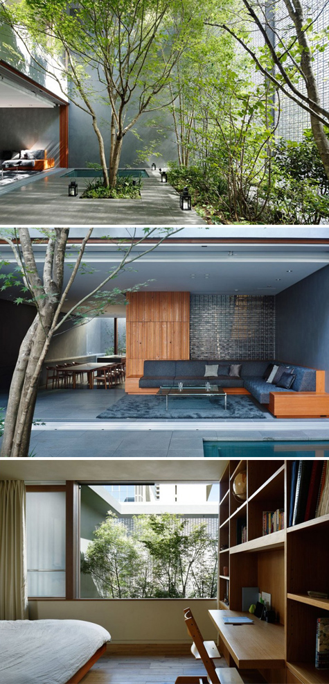 Optical Glass House By Nap Architects: Designvagabond: Optical Glass House