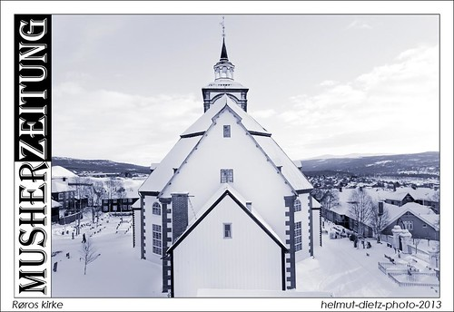 Røros kirke, Røros church, Røros Kirche ... helmut-dietz-photo-2013