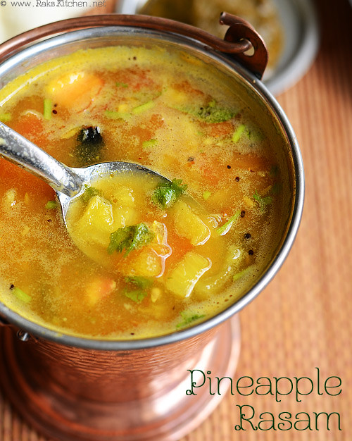 pineapple-rasam+recipe