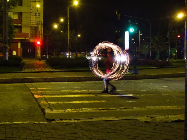 street performer, Cuenca