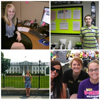 Summer Intern Collage