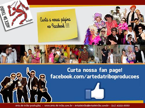 ArtedaTribo - Curta Fan Page Arte da Tribo by Arte da Tribo Produções