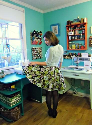 Pavlova Top/Circle Skirt