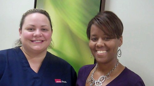 Sommer Smith—LVN at Alvin Pediatrics, and Meccah Fisher-Van Buren—PSS I at South Shore Orthopediacs.
