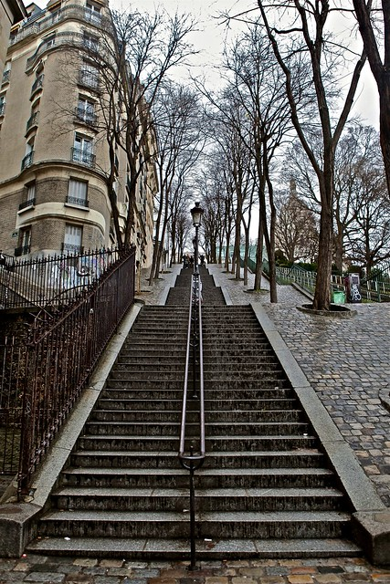 Montmartre Stairs up