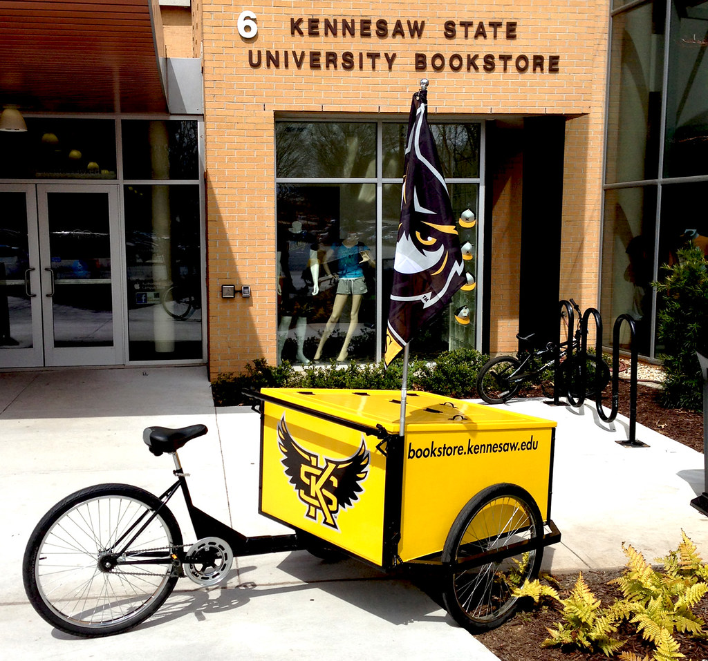 Kennesaw State University Makes Buyback Mobile With A Bookstore Bike