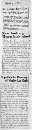 1933 Wesley Gerig accident0001