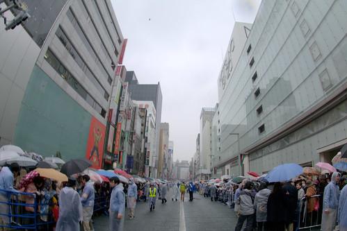 歌舞伎座 お練りと開場式の日