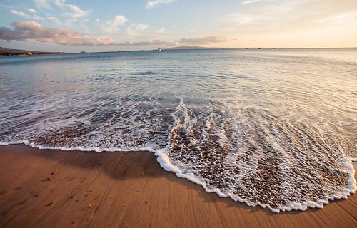 [フリー画像素材] 自然風景, 海, ビーチ・海岸, 風景 - アメリカ合衆国, アメリカ合衆国 - ハワイ州 ID:201304021200