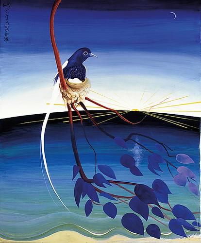 """""""The Sunrise Japanese Good Morning"""" by Brett Whiteley"""