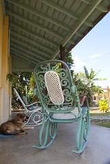 Casona colonial en el pueblo de Vega de Palma, en Camajuaní, provincia Villa Clara, Cuba - 2013