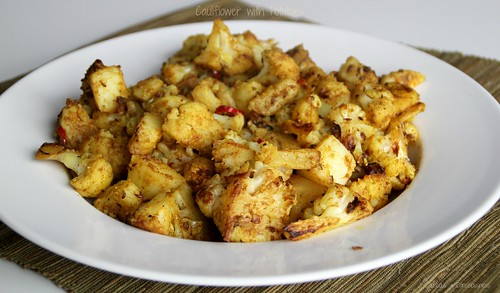 Cauliflower with Potatoes 1