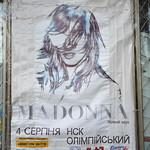 Madonna 2012 World Tour concert in Kyiv, 4 August 2012