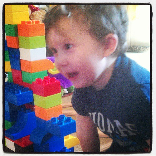 KFP is pleased with the #LEGO tower of the day.