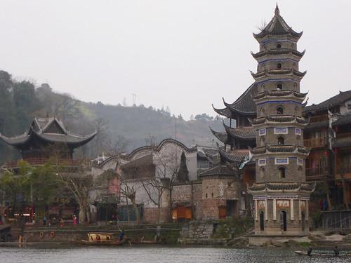 Hunan13-Fenghuang-Ville-Rive Sud (50)