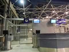 At Helsinki airport..