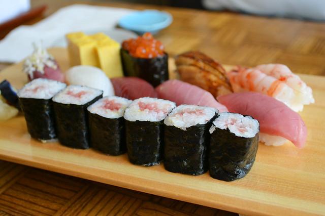 Nigiri Sushi Tokusen Set, Aoki