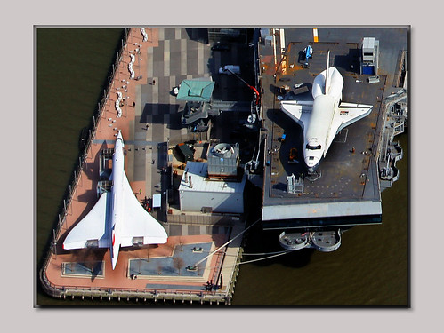 Concorde and Space Shuttle