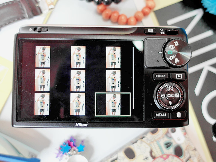 nikon 1 J2 screen and buttons