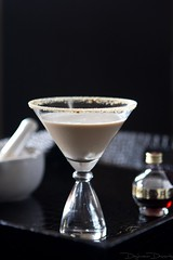 Chocolate Raspberry Cheesecake Martini