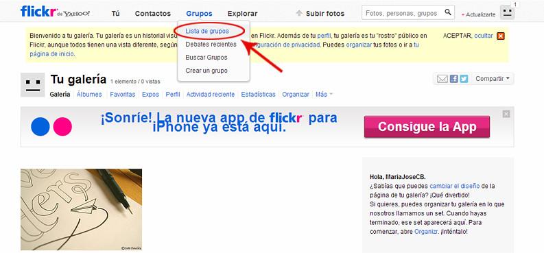 grupos flickr